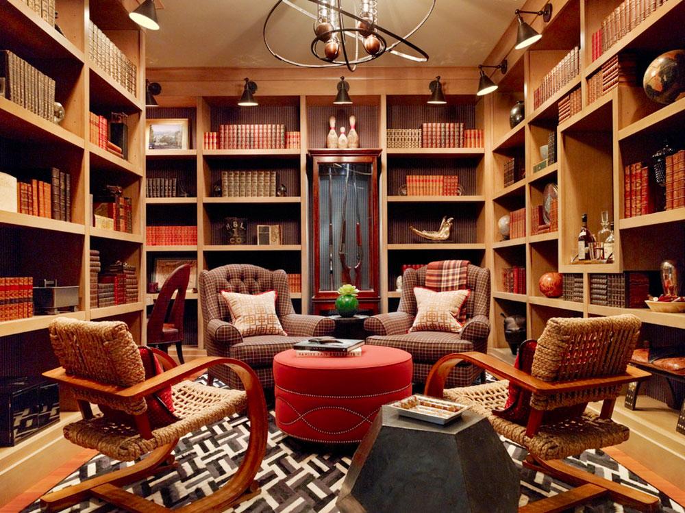 Impressive Home Library Design Ideas For 2017 17 Impressive