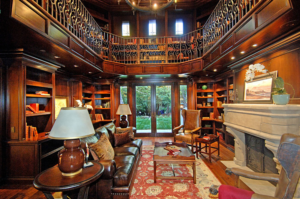 Exceptional Impressive Home Library Design Ideas For 2017 4 Impressive