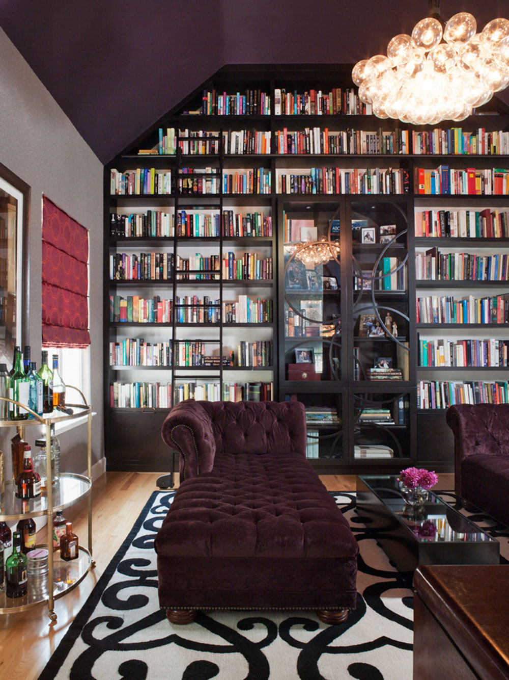 Impressive Home Library Design Ideas For 2017 7