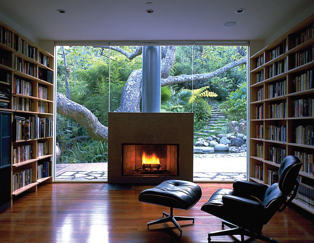 Terrific Impressive Home Library Design Ideas For 2017 Inspirational Interior Design Netriciaus
