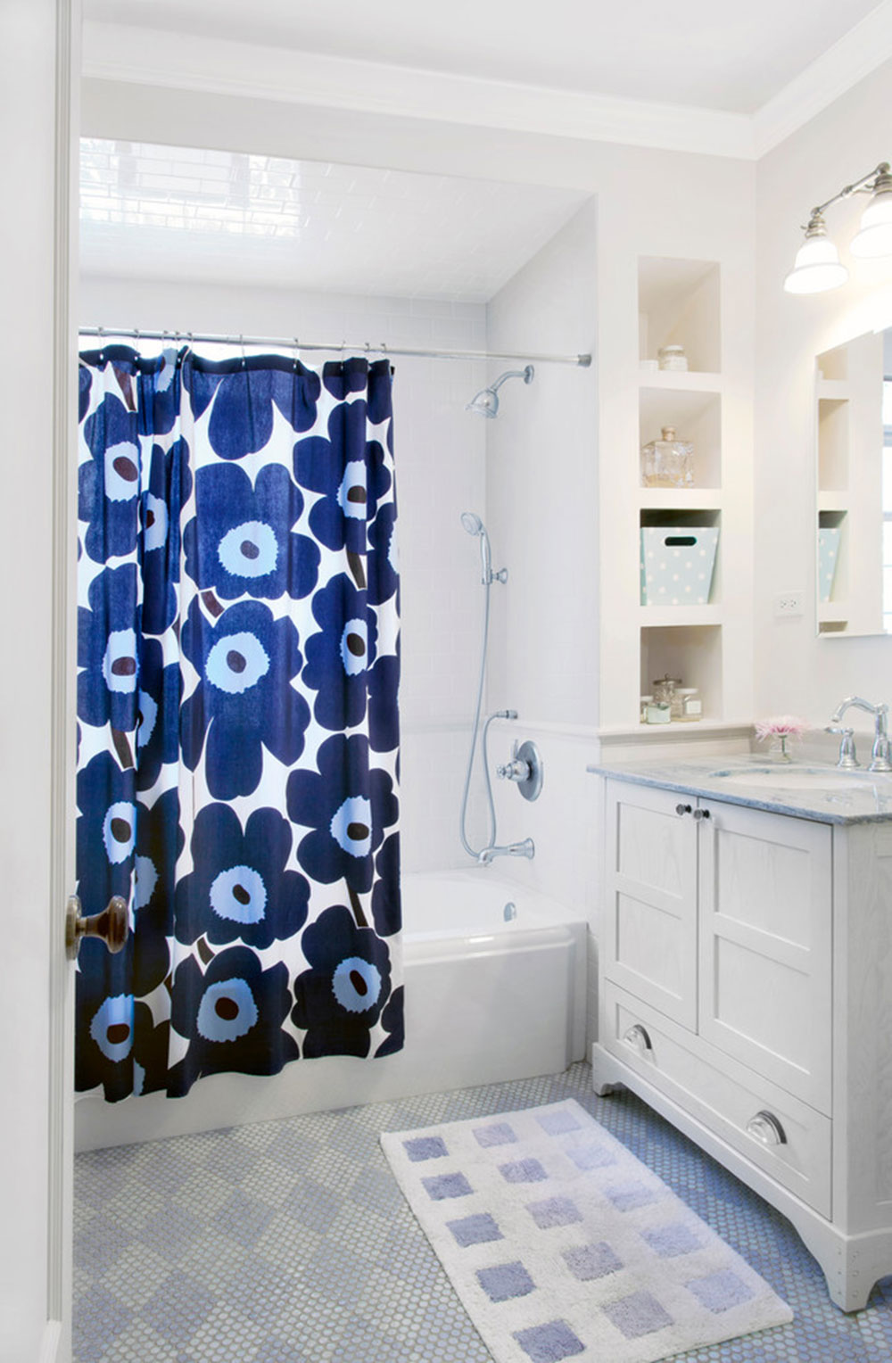 Improve Your Bath Appearance With Trendy Shower Curtain11