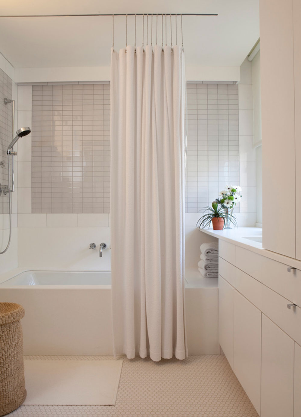 improve your bath appearance with trendy shower curtain3 trendy