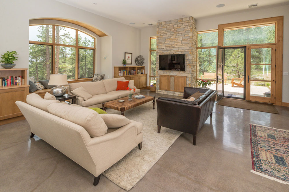 Incorporate Polished Concrete Floors In Your Home13 Incorporate Polished  Concrete