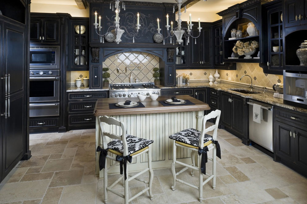 Kitchens With Black Cabinets Can Still Be Bright3 Kitchens