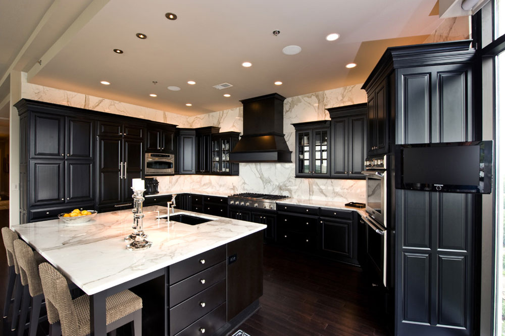Kitchens With Black Cabinets Can Still Be Bright4 Kitchens