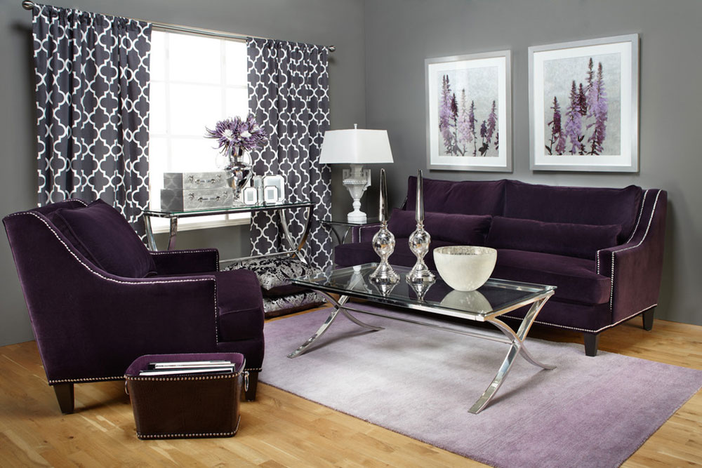 year decorate room livings s color the ways pantone purple to sofa of couch and curtains living with