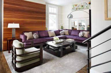 Great Looking Purple Couch Design Ideas