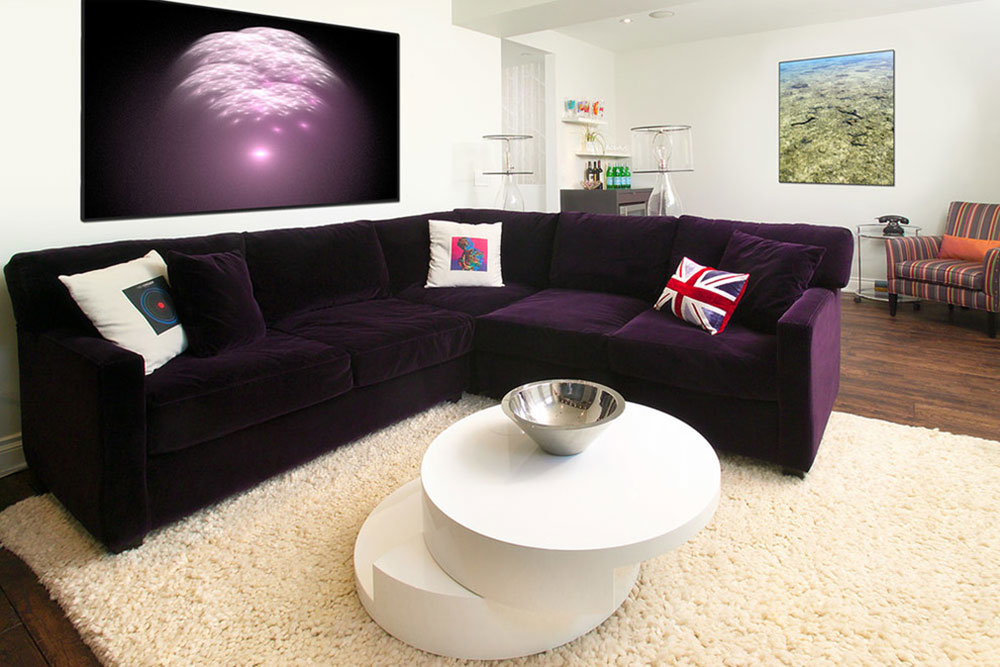 The Experience Of A Purple Couch Is Not  Part 49