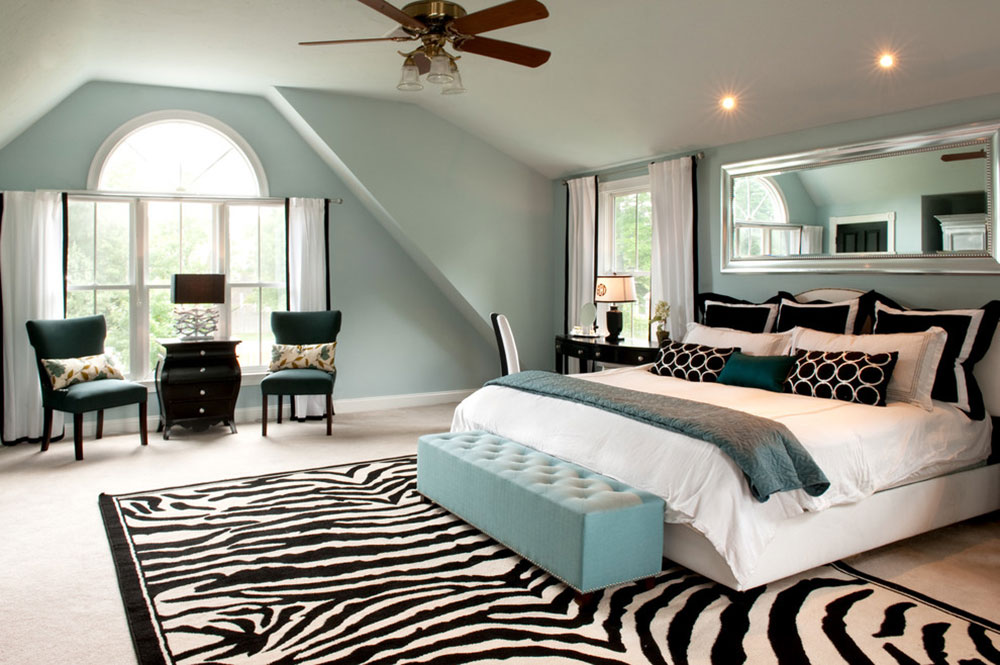 Always Elegant Black And White Bedroom Ideas3