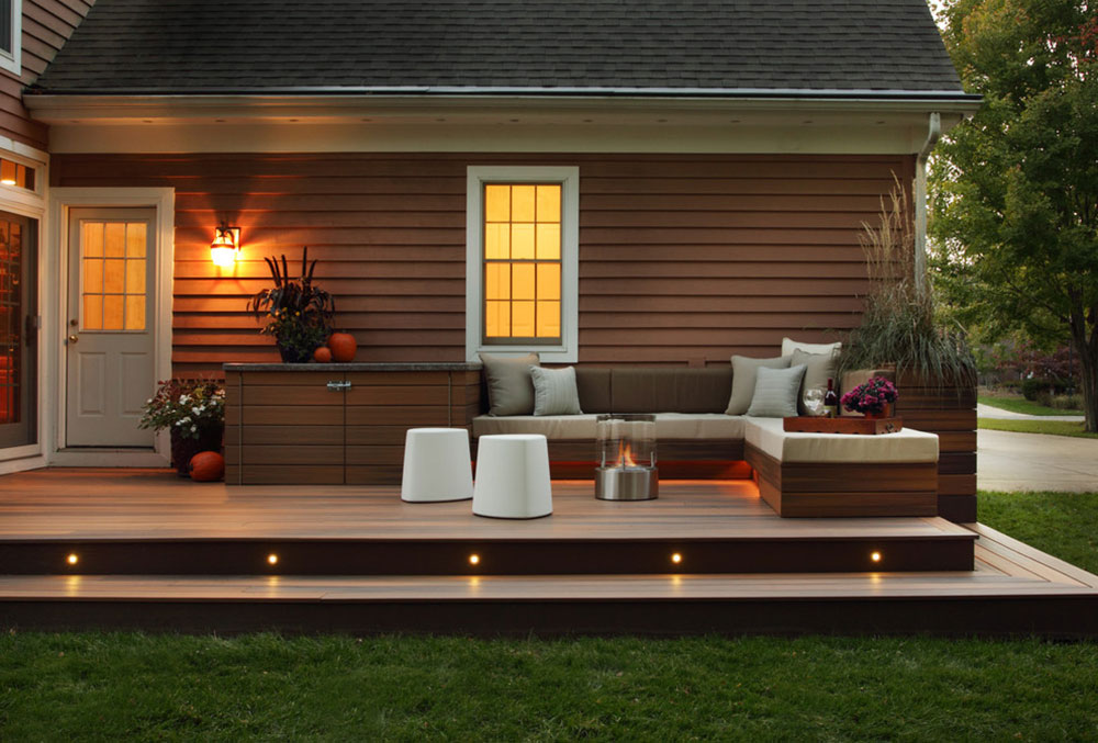 outside deck lighting. brightyourbackyardwiththesedecklightingideas3 backyard outside deck lighting n