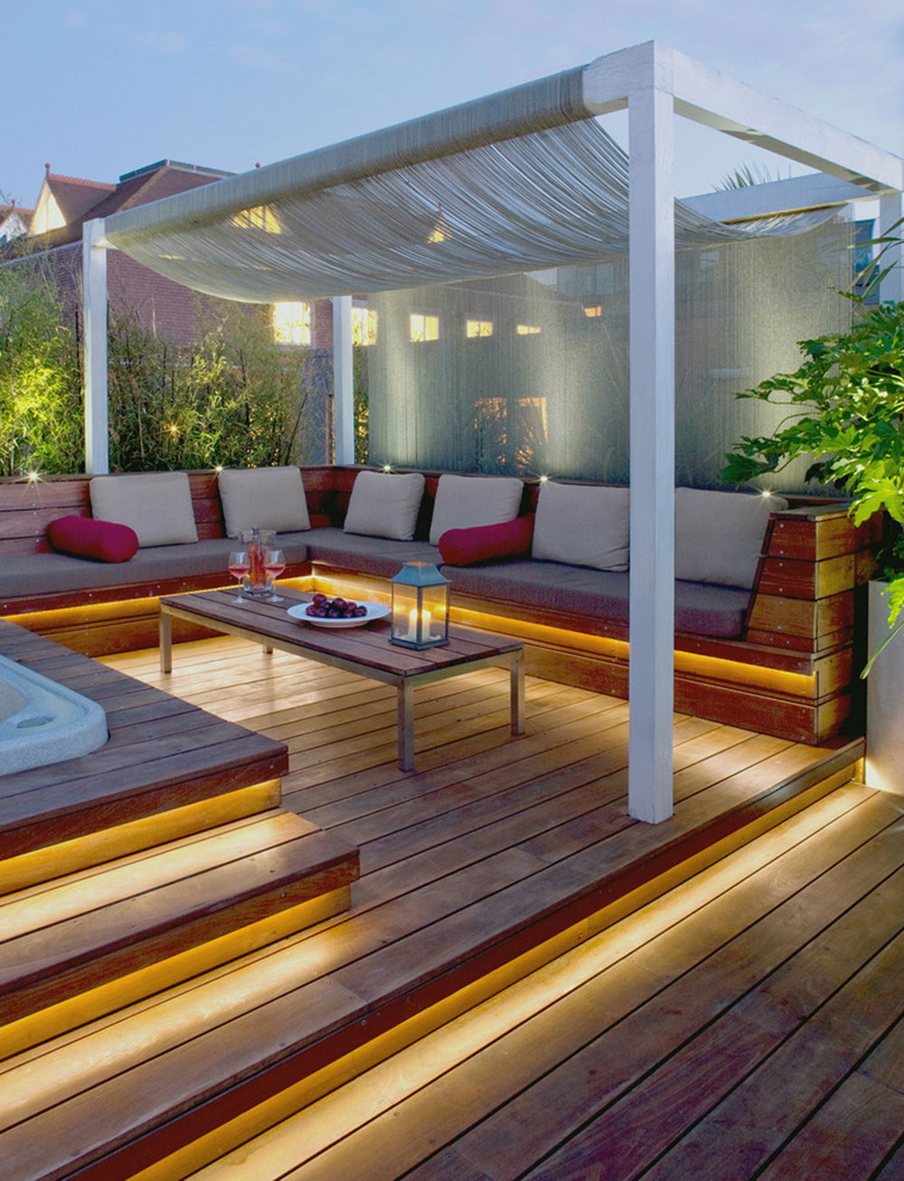 deck lighting ideas pictures. Bright-Your-Backyard-With-These-Deck-Lighting-Ideas4 Backyard Deck Lighting Ideas Pictures E