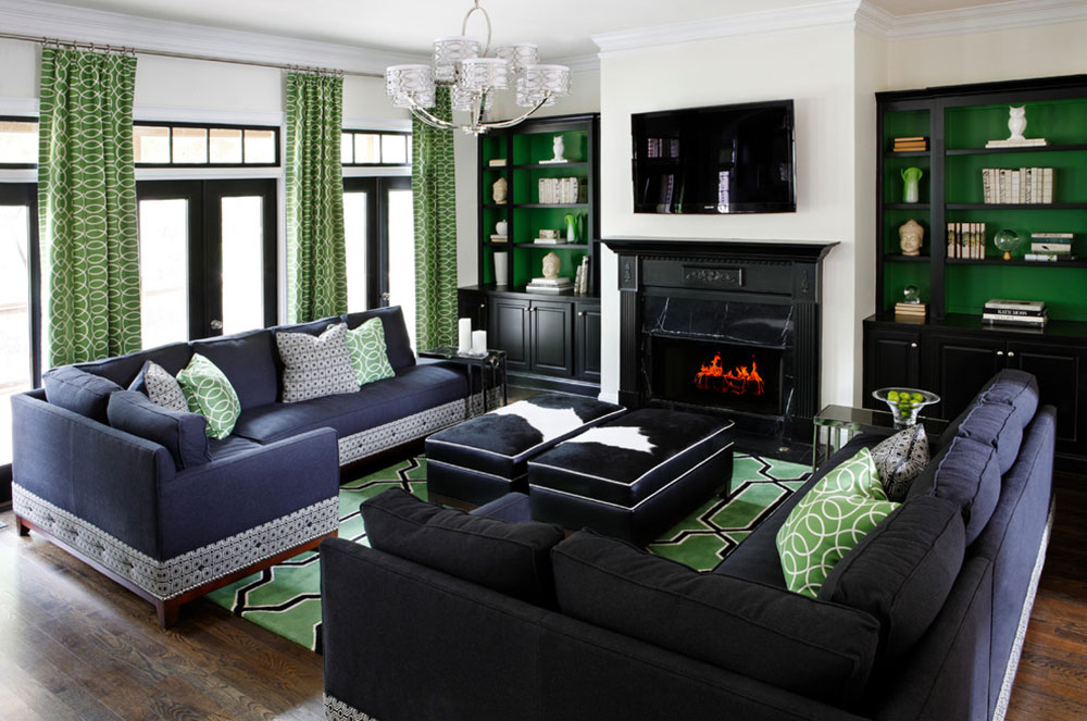 Brilliant Shades Of Green For Your Living Room2 Brilliant