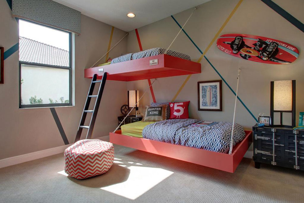 Creative Hanging Beds Ideas For Amazing Homes15