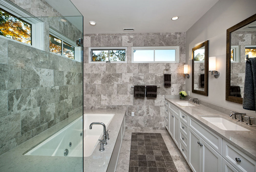gray bathroom ideas for relaxing days13 gray bathroom design ideas - Gray Bathroom Ideas