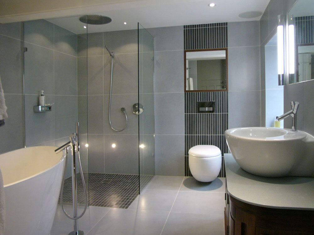 gray bathroom ideas for relaxing days14 gray bathroom design ideas - Gray Bathroom Ideas