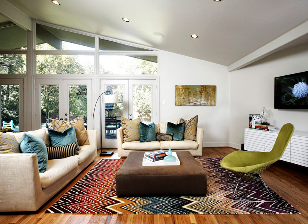 Modern Living Room Rug Ideas Creative