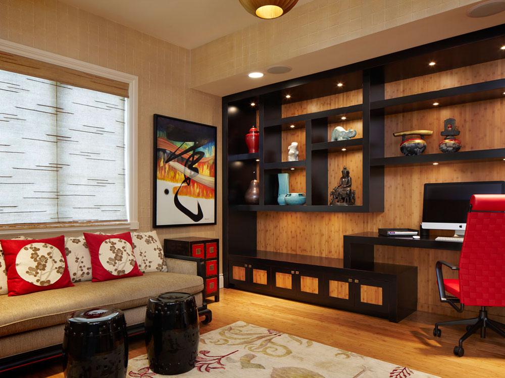 Open Shelving A Popular Built In Furniture Solution14 Open