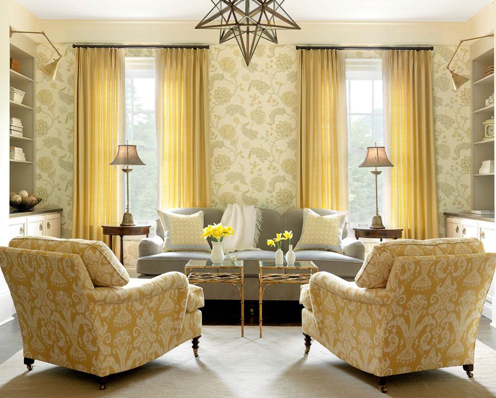 This triadic color design utilizes yellow orange and a dark shade of - Cool Interior Design Color Schemes20 Cool Interior Design Color Schemes