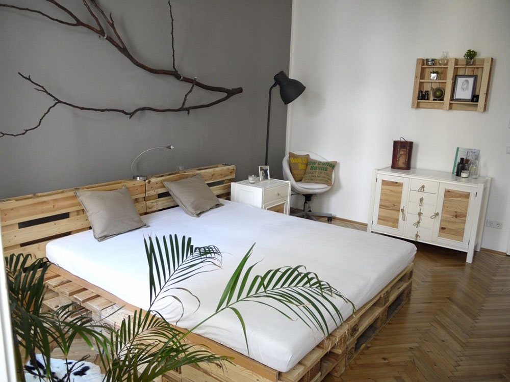 Attractive Great Pallet Bed Ideas To Lighten Your Space4 Great