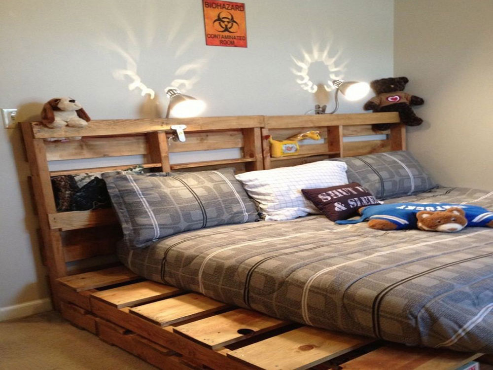 Great Pallet Bed Ideas To Lighten Your Space7 Great