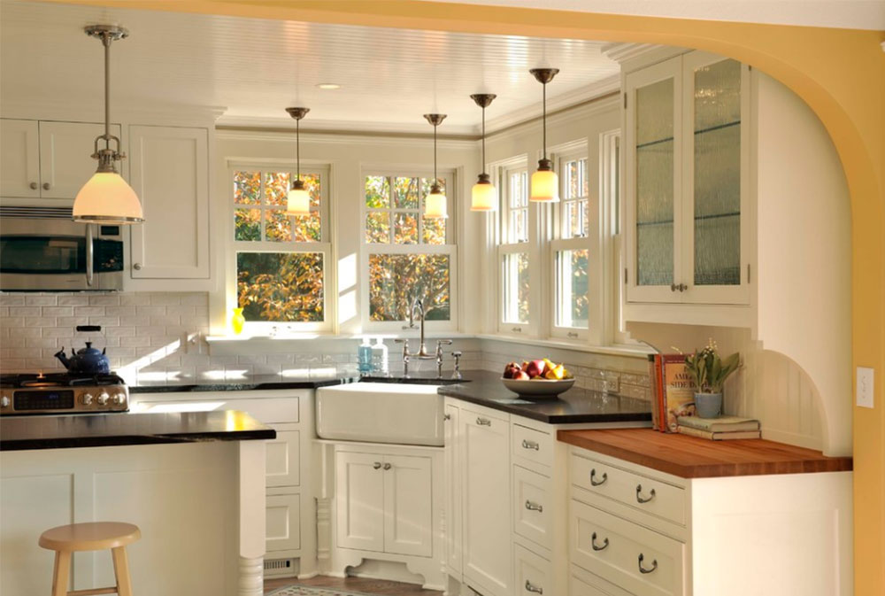 Lovely Corner Kitchen Sink Design Ideas Part - 7: Image-1-10-1 Corner Kitchen Sink Design Ideas