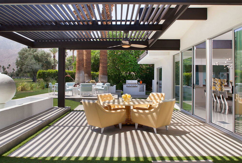 Image-1-5 Modern Pergola Ideas To Add To Your House Design - Modern Pergola Ideas To Add To Your Home Design