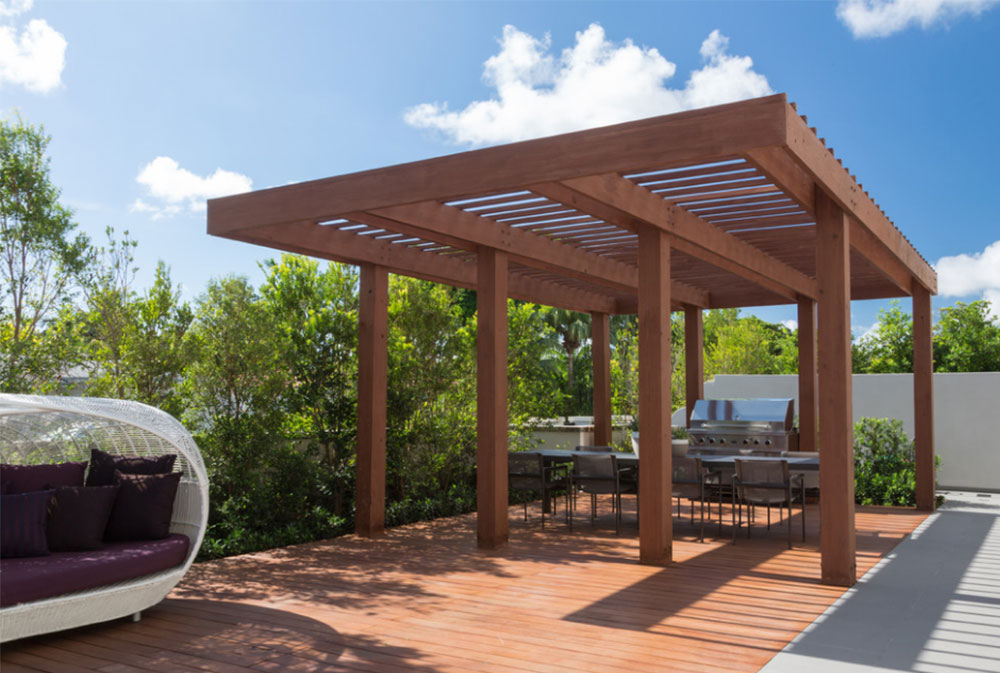 Image-4-5 Modern Pergola Ideas To Add To Your House Design