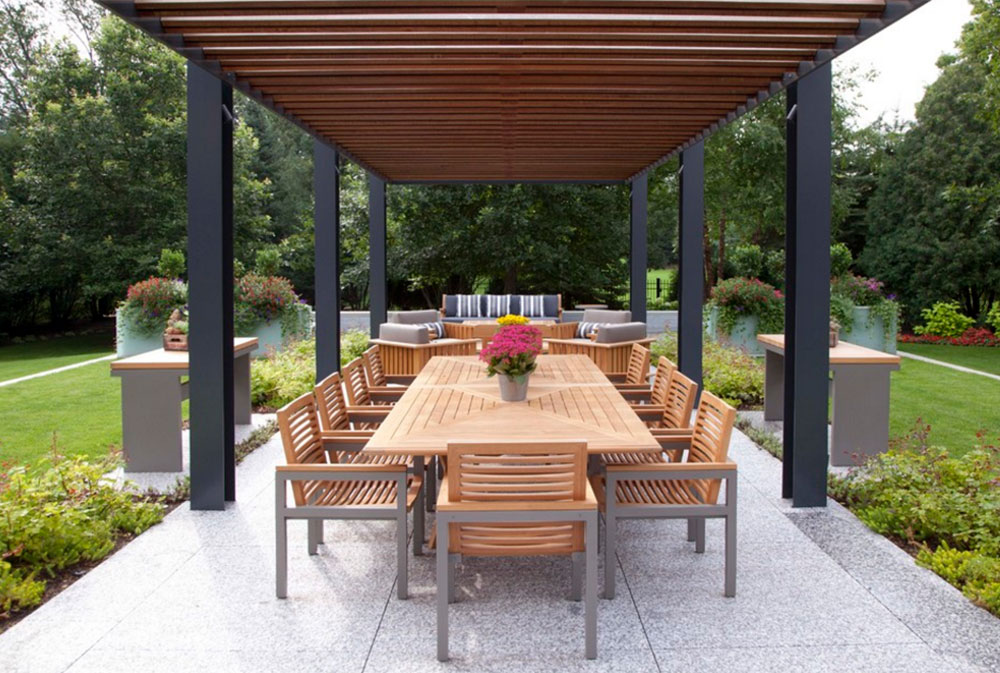 Image-5-5 Modern Pergola Ideas To Add To Your House Design - Modern Pergola Ideas To Add To Your Home Design