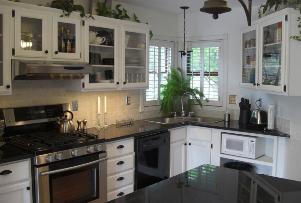 Corner Kitchen Sink Design Ideas Part - 37: Image-7-10-1 Corner Kitchen Sink Design Ideas