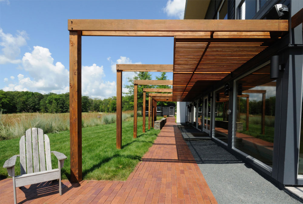 Image-7-5 Modern Pergola Ideas To Add To Your House Design - Modern Pergola Ideas To Add To Your Home Design