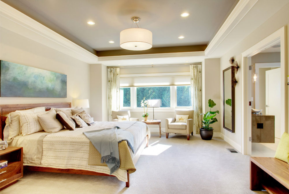 Image 7 6 Tray Ceiling Design Ideas How To Decorate And Paint Them