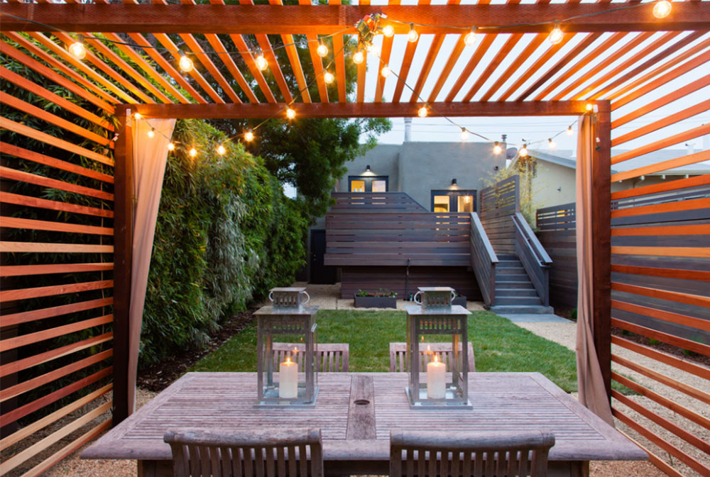 Image-8-5 Modern Pergola Ideas To Add To Your House Design - Modern Pergola Ideas To Add To Your Home Design