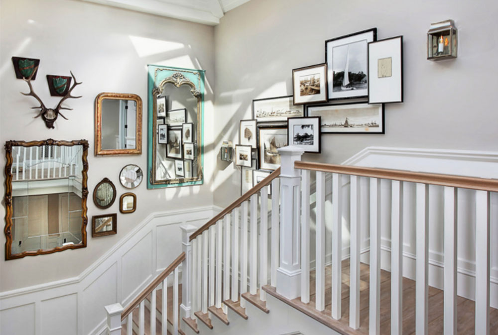Stairway Wall Decorating Ideas stairway walls decorating ideas