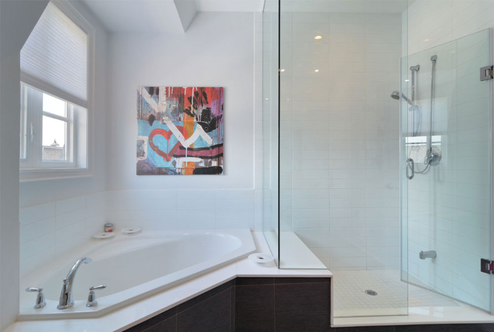 Modern Corner Bathtub Ideas (29 Pictures)