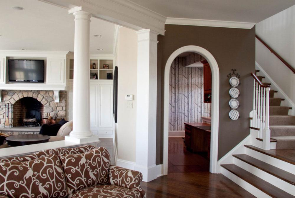 arched interior doorway design and decoration architecture