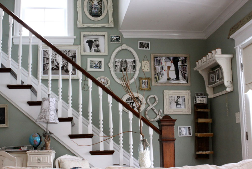 Image 1 8 Stairway Walls Decorating Ideas