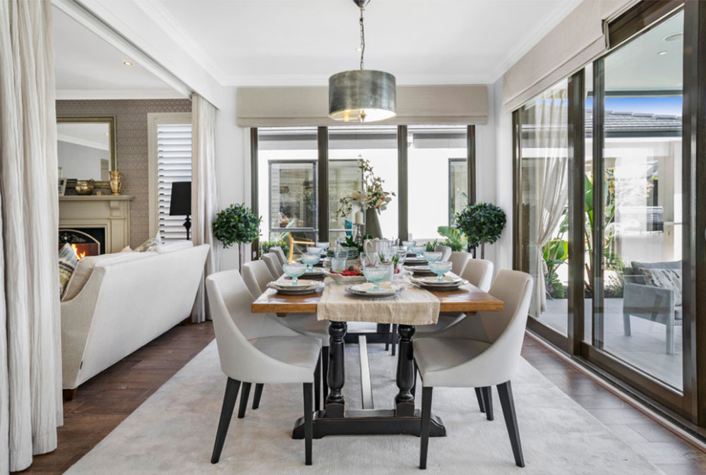 Image 11 17 How To Decorate An Elegant Dining Room 57 Examples