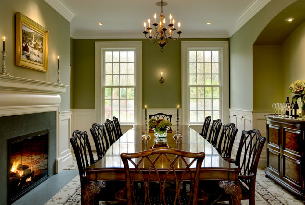 Image 12 18 How To Decorate An Elegant Dining Room 57 Examples