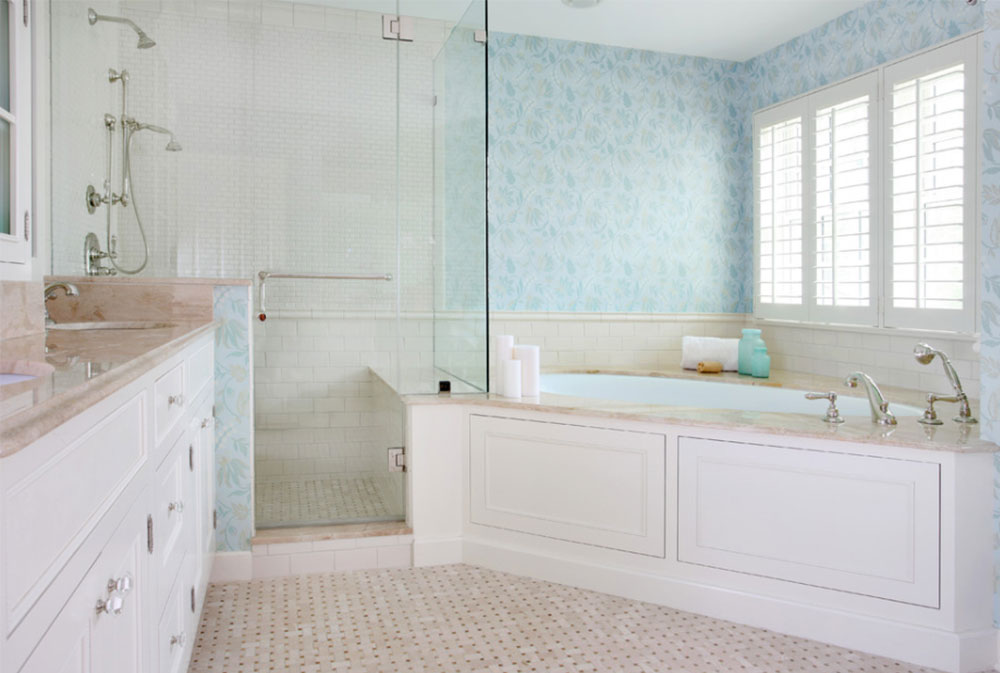 Image-14-1 Modern Corner Bathtub Ideas (29 Pictures)