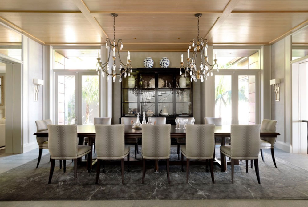 Trend Image How to Decorate an Elegant Dining Room Examples
