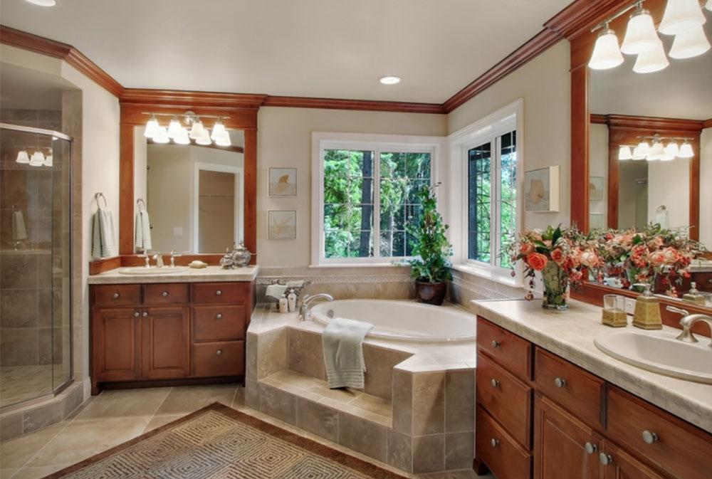 Image-17 Modern Corner Bathtub Ideas (29 Pictures)