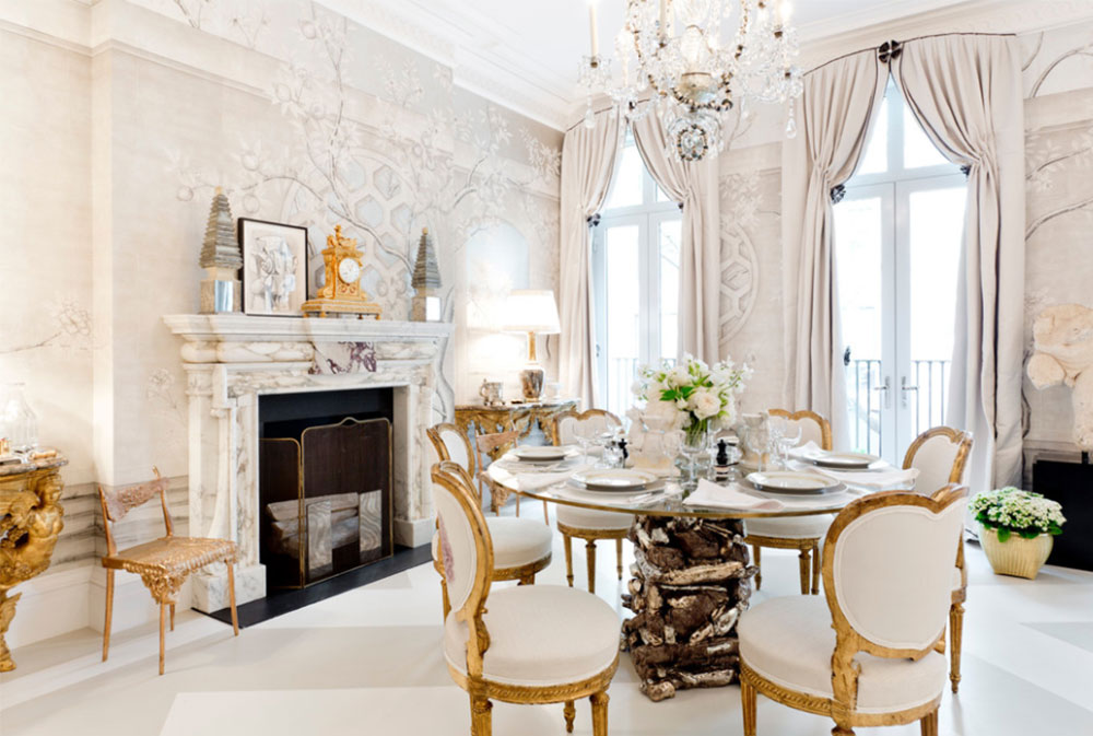 How to Decorate an Elegant Dining Room (57 Examples)