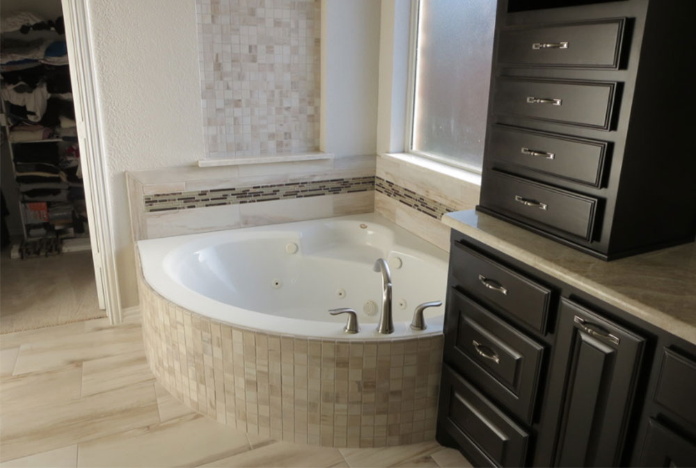 Corner Tub Ideas Part - 35: Image-27 Modern Corner Bathtub Ideas (29 Pictures)