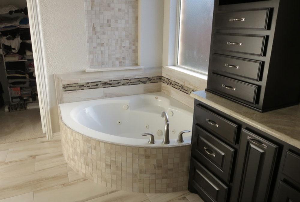 Modern Corner Bathtub Ideas (29 Pictures)