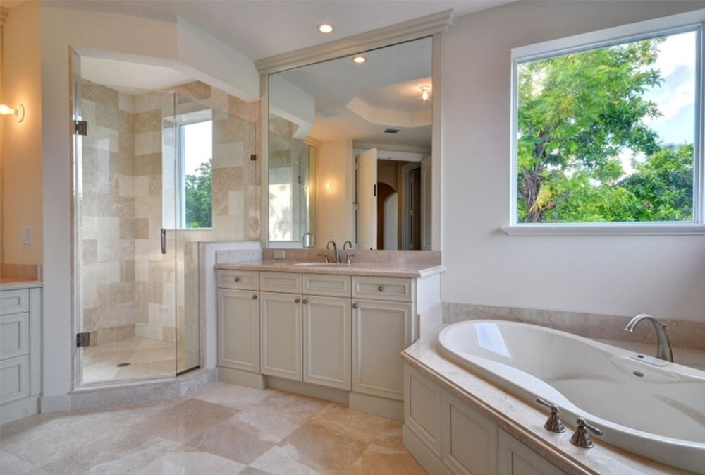 corner tub ideas