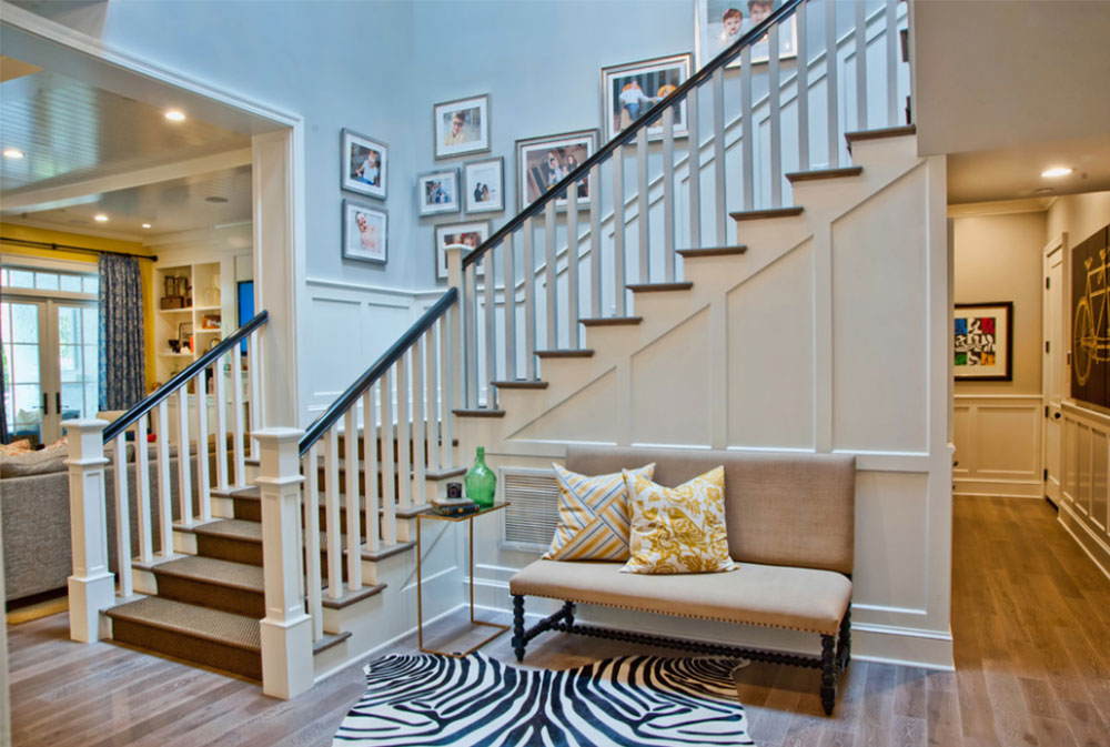 Image 4 8 Stairway Walls Decorating Ideas