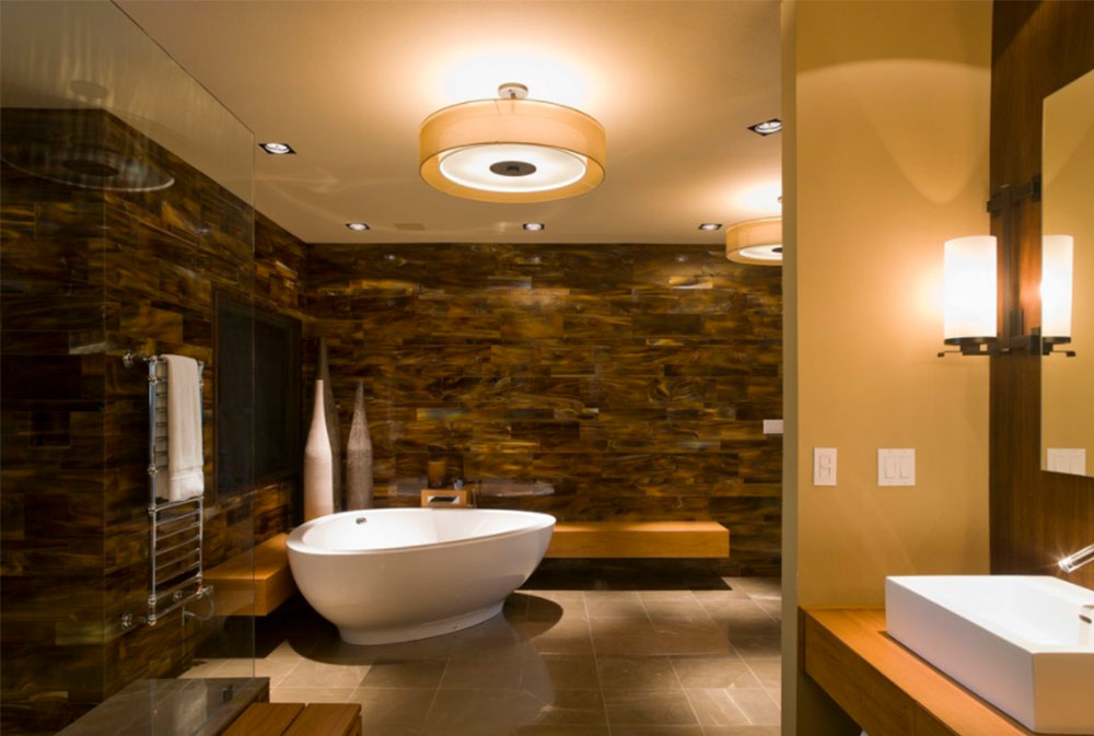 Nice Corner Tub Ideas Part - 13: Image-8-1 Modern Corner Bathtub Ideas (29 Pictures)