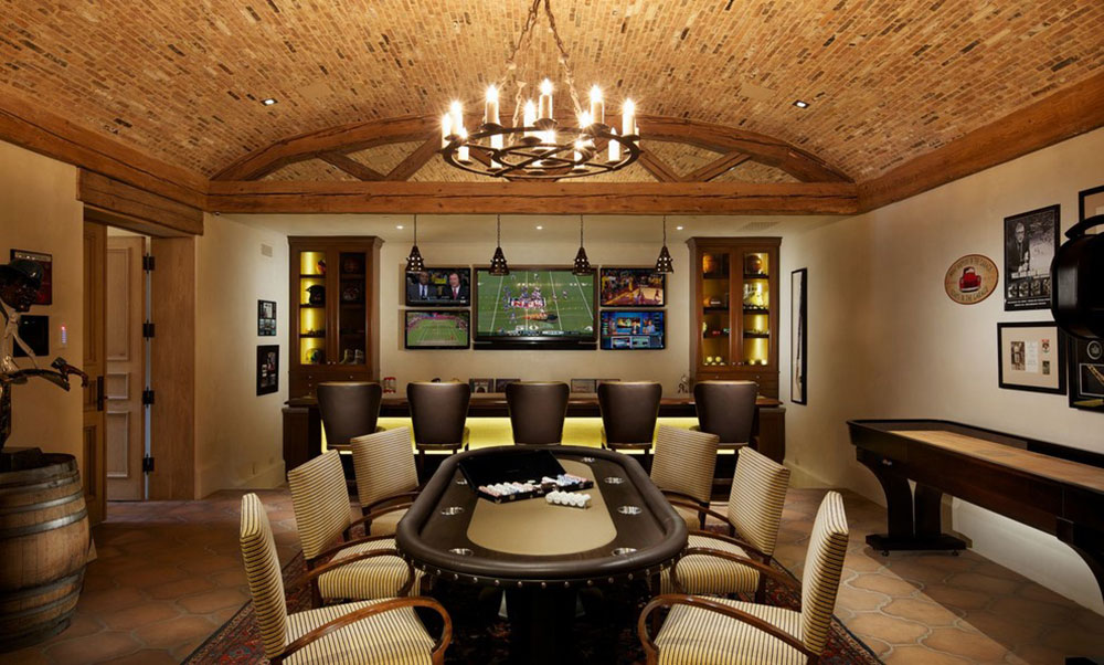 Man cave design ideas and furniture for Man cave designer