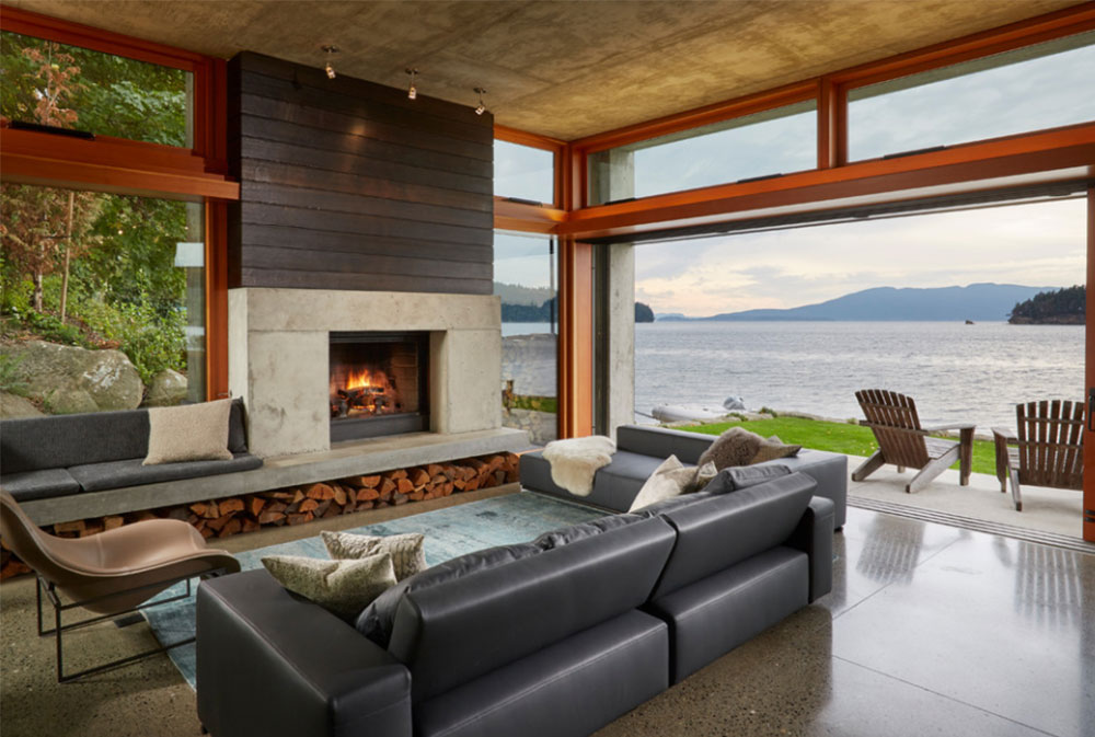 Bay House By McClellan Architects How To Decorate A Large Living Room