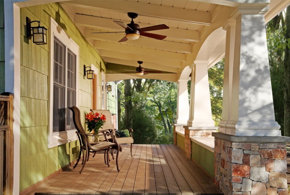 Craftsman Front Porch By Commonwealth Home Design Front Porch Ideas